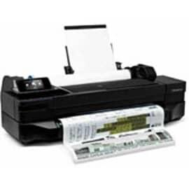 """Plotter HP Designjet T120 Impressora Jato de Tinta ePrinter Series, mídia 61cm (24 polegadas ), A4 até o tamanho A1 , Tela de 4,3"""", WI-FI, conexão internet, 1.200 x 1.200 dpi otimizados, papel fotográfico,rolo, bandeja, cortador automático, CQ891A#B1K"""