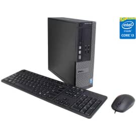 Computador Dell Desktop Optiplex 3040 ,Small Form, sfF, Intel Core i3-6100 3.7GHz 6 geração, H110 Chipset, HD Graphics 530, gigabit Ethernet, 4GB RAM DDR3L, disco 500GB HD 7200 RPM, 10x usb, 1x HDMI, Windows 10 Pro (Dwng Win7 Pro) 210-AITD-001C-DC11