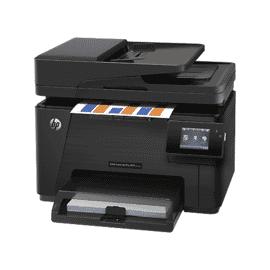 Multifuncional HP LaserJet Pro MFP M177fw, CZ165A,Impressora, Copiadora, Scanner óptica Até 1200 dpi,,Fax,ePrint,até 16 ppm, ciclo 20,000 pág, Tela de toque, 600 x 600 dpi (2400 dpi ImageREt 2400), WiFi , USB 2.0 , rede Fast Ethernet 10/100, escaninho 50