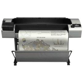 "Plotter Impressora HP DesignJet T1300 PostScript, 1.118 mm 44"" polegadas, Mobile Printing,ePrint & Share,Servidor Web,imprime pen drive,usb,2 rolos automáticos,folha solta,bandeja mídia,cortador,6 cartuchos,Até 2400 x 1200 dpi,CAD e GIS,Gigabit Eth CR652A"